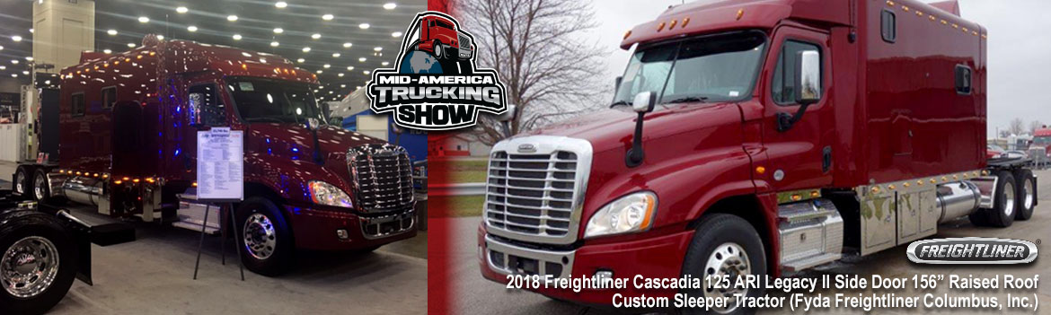 MATS 2017 – Great Show Featuring A Great New Luxury Freightliner